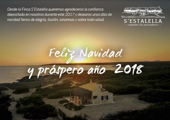 Bon Nadal i bon any 2018 Casetes de Pescadors